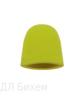 FINGER MITT - AGGRESSIVE YELLOW. ПОЛУПАЛЬЦЫ